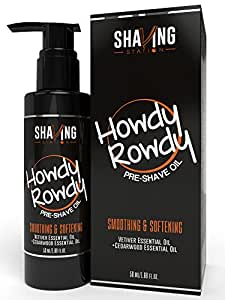 Shaving Station - Pre Shave Oil - Paraben & Sulphate Free - 50ml - Cedarwood & Vetiver