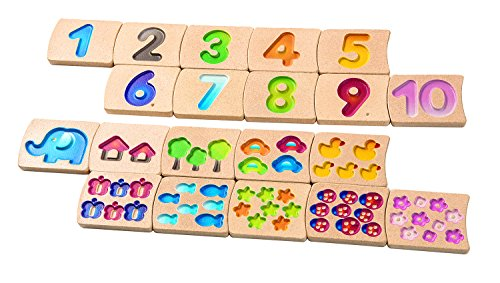 Plan Toys Numbers 1-10 (Plan Toys Numbers compare prices)