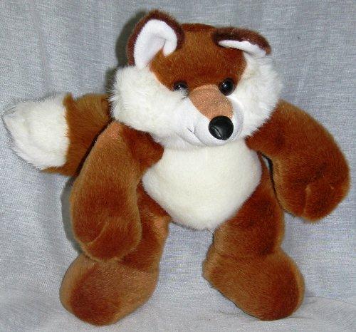"Fox Wylie 13"" White Tail Plush - 1"