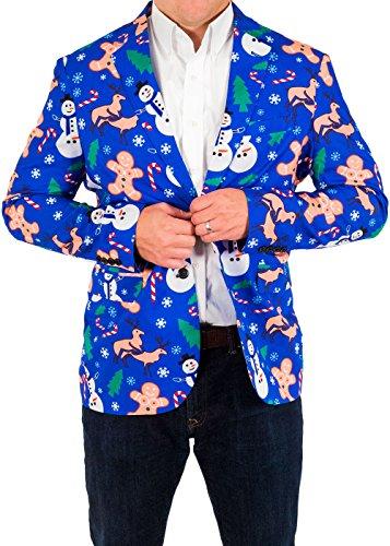 Naughty Christmas Suit Coat