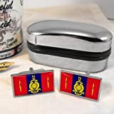 Royal Marines 45 Commando Flag Mens Gift Cufflinks UK