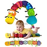 DDStore S0BZ Colorful Musical Inchworm Developmental Baby Toy