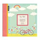 Happy Days Bicycle Ride Large 12 Scrapbook Memory Book Photo Album 12x12