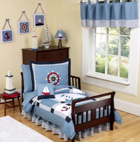 Red Toddler Bedding 5518 front