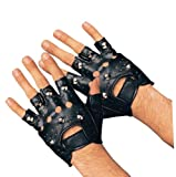 Rubie's Costume Studded Gloves by NYC Leather Factory Outlet