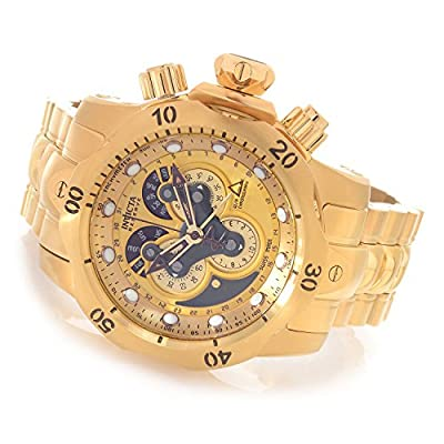Invicta Men's 14462 Venom Analog Display Swiss Quartz Gold Watch