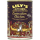 Lily's Kitchen Coronation Chicken Complete Wet Food for Dogs, Pack of 6