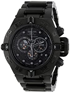 Invicta Men's 6561 Subaqua Noma IV Collection Chronograph Black Ion-Plated Watch