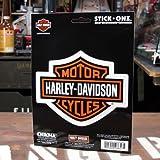 ステッカー ハーレーダビッドソン バー&シールドエンブレム STICK ONZ_SC-DA8657-MON