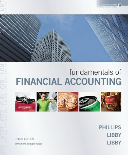 Fundamentals of Financial Accounting with Annual Report + Connect Plus [Hardcover]
