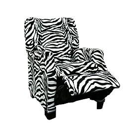 Newco Kids Deluxe Recliner, Zebra