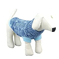 Dog Sweater,Pet Apparel Small Dog Winter Clothes Shirt Cotton Coat Clothing for Dog and Cat Classic Style