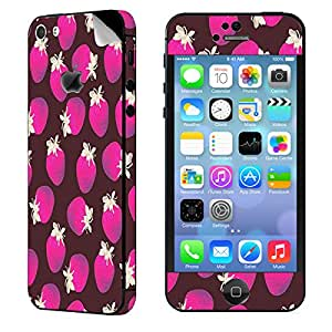 Theskinmantra Strawberries Love Apple iPhone 5S mobile skin