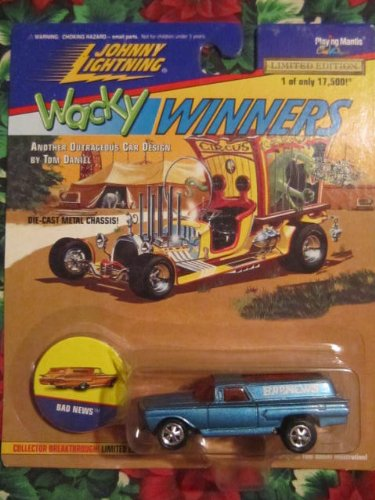 Johnny Lightning Wacky Winners 1 of 17,500 Bad News