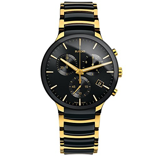 Rado Centrix Men's 40mm Chronograph Multicolor Ceramic Quartz Watch R30134162