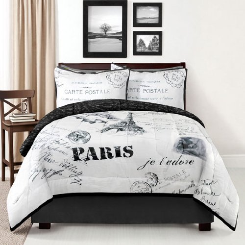 Here Are Some Eiffel Tower Bedding Sets