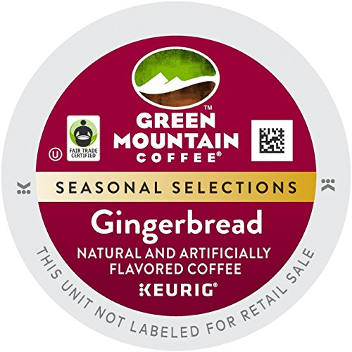 Keurig K-Cups Green Mountain Coffee Gingerbread, 18 Count (Gingerbread Coffee K Cup compare prices)