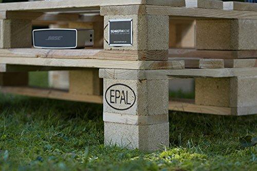 palma palettenm bel gartensitzgruppe aus hochwertigen m belpaletten mit f en helle paletten. Black Bedroom Furniture Sets. Home Design Ideas