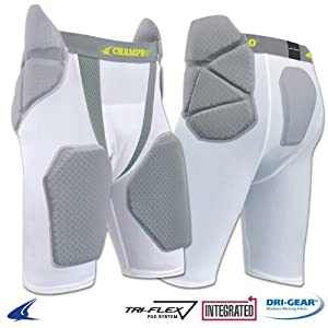 Buy Champro Tri-Flex Football Girdle - 5 Pads, Youth Medium by Champro