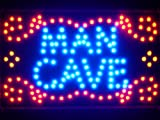 Led101-b Man Cave Garage Room Led Neon Light Sign