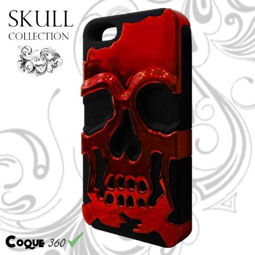 SCAFO Red Skull IPHONE 5 / 5S / SE