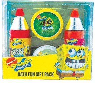 Spongebob Fun Bath Set Bubble Bath Putty Soap Bath Salt