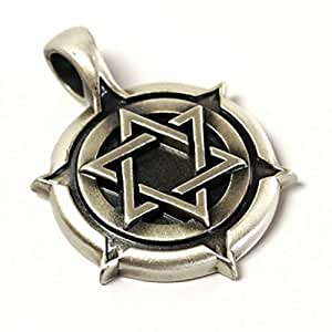 Amazon.com: Bico Pendant (E192) Star of David Shield - Description