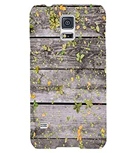 Back Cover for Samsung Galaxy S5 Wodden Plank
