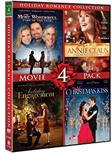 Holiday Romance Collection Movie 4 Pack A Christmas Kiss Holiday Engagement The Most Wonderful Time Of The Year Annie Claus Is Coming To Town from Gaiam
