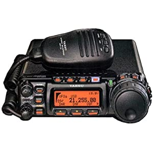 Yaesu FT-857D Amateur Radio Transceiver - HF, VHF, UHF All-Mode