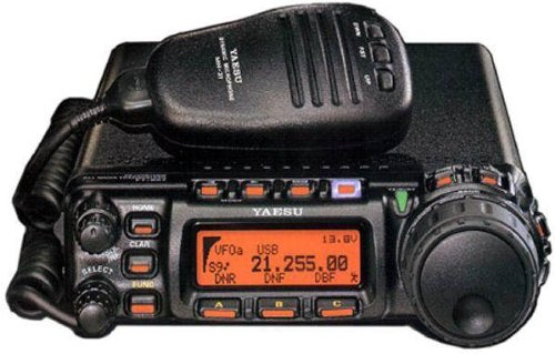 Yaesu FT-857D Amateur Radio Transceiver - HF, VHF, UHF All-Mode 100W