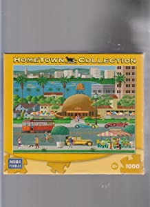 Hometown Collection 1000 Piece Jigsaw Puzzle - Brown Derby