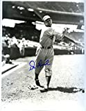 Don Lund (D.) Autographed/ Original Signed 8x10 B&W Photo Showing Him w/ the Detroit Tigers