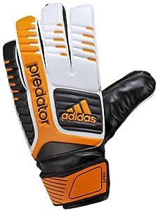 adidas Predator Junior Goalie Glove (White/Black/Bright Gold, 3)