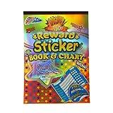 Libro de pegatinas Recompensa y tabla reutilizable - Más de 1.500 pegatinas - Un montón de diseños, formas y mensajes - Tamaño 290mm x 205mm