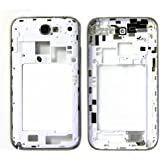ePartSolution-Samsung Galaxy Note 2 II AT&T i317 T889 T-Mobile Housing Back Plate Bezel White Color Replacement Part USA Seller
