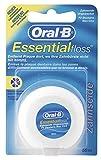 Oral-B Essentialfloss Ungewachst 50m (Zahnseide), 4er Pack...