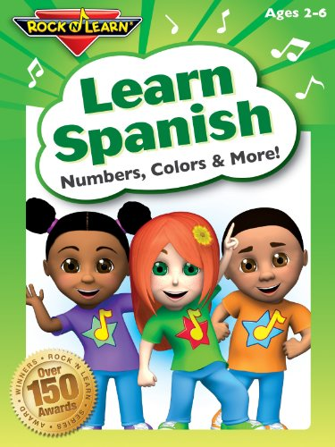 Learn Spanish - Numbers, Colors & More