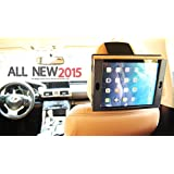 2015 Premium High Quality Heavy Duty Car Headrest & Airplane Tray Table Mount Holder for All iPad model WITH or WITHOUT case iPad 1 2 3 4 & iPad Air