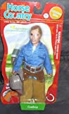 Horse Country Adventure Rider Cowboy Figure 6 1/2""
