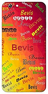 Bevis (Name of a Place) Name & Sign Printed All over customize & Personalized!! Protective back cover for your Smart Phone : Moto X-STYLE