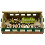 Van Manen 610492 - Granja de madera en miniatura con accesorios (escala 1:87, 24 x 30 cm)