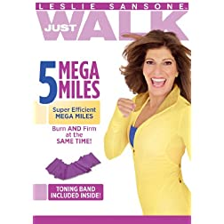 Leslie Sansone: 5 Mega Miles with Toning Band