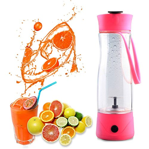 Best Prices! HQdeal Mini Electric Personal Juicer Sports Bottle Protein Shaker Mixer Smoothie Maker ...