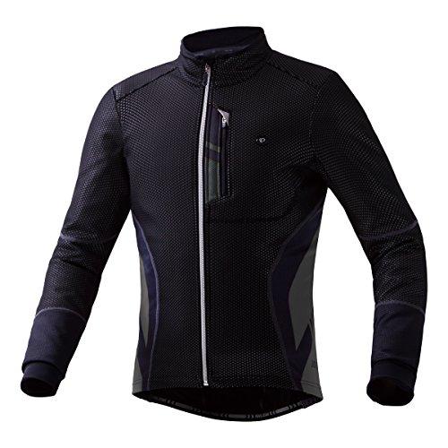 (パールイズミ)PEARL IZUMI 1500BL プレミアムウィンドブレークジャケット 1500BL 6 ブラック L