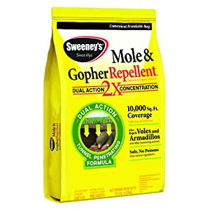 Sweeney'S 7002 Mole and Gopher Repellent, Granular, 10-Pound   (not avalibale in NM) (Discontinued by Manufacturer)