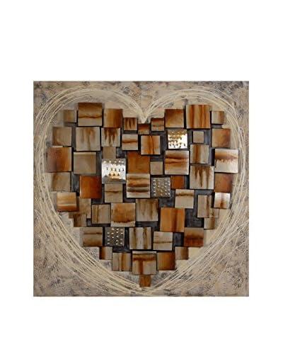 Arte Dal Mondo Panel Decorativo Edgar Ramirez Cuore