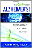 You Can Prevent Alzheimers!