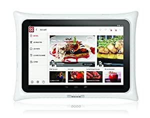 QOOQ V3 tablette tactile 10 pouces blanche starter pack avec housse