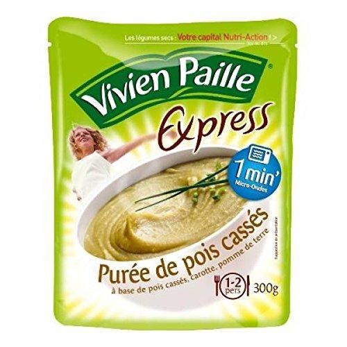 Vivien Paille - express purée de pois cassés à base de pois cassés, carottes, pommes de terre - 300g